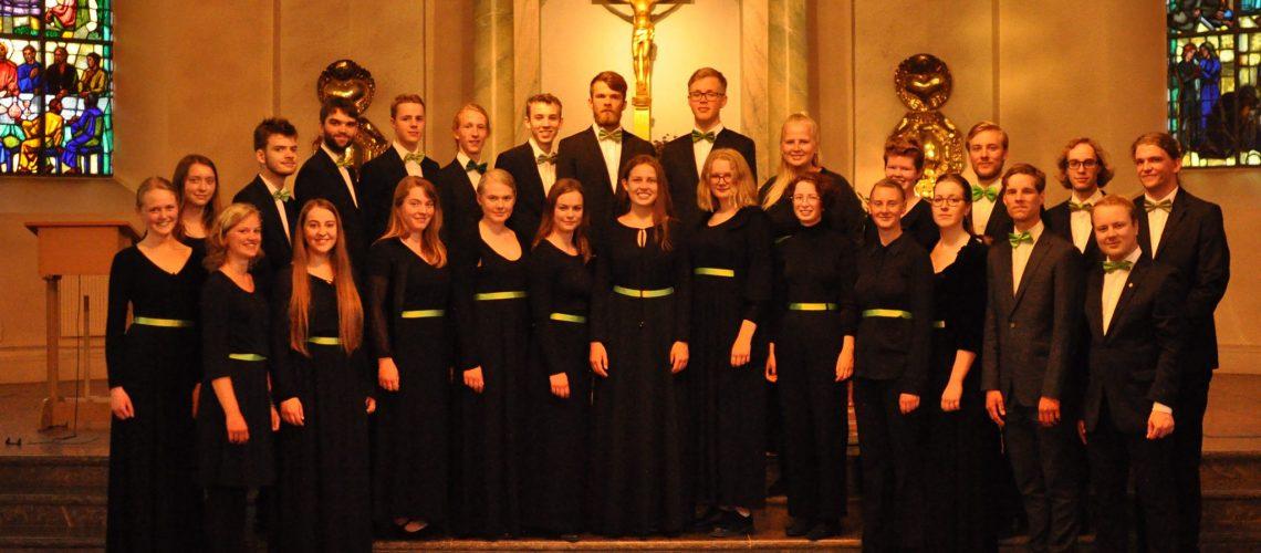 Sveriges Ungdomskör ger konsert i Varberg